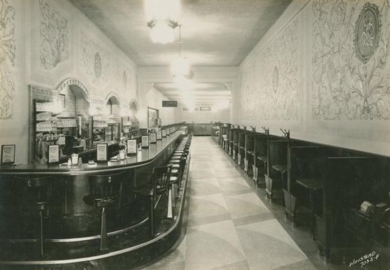 Manning's Cafeteria murals, Los Angeles, Calif., 1933