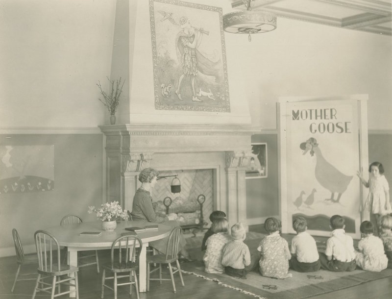 PTA auditorium, East Whittier School, East Whittier, Calif., 1932
