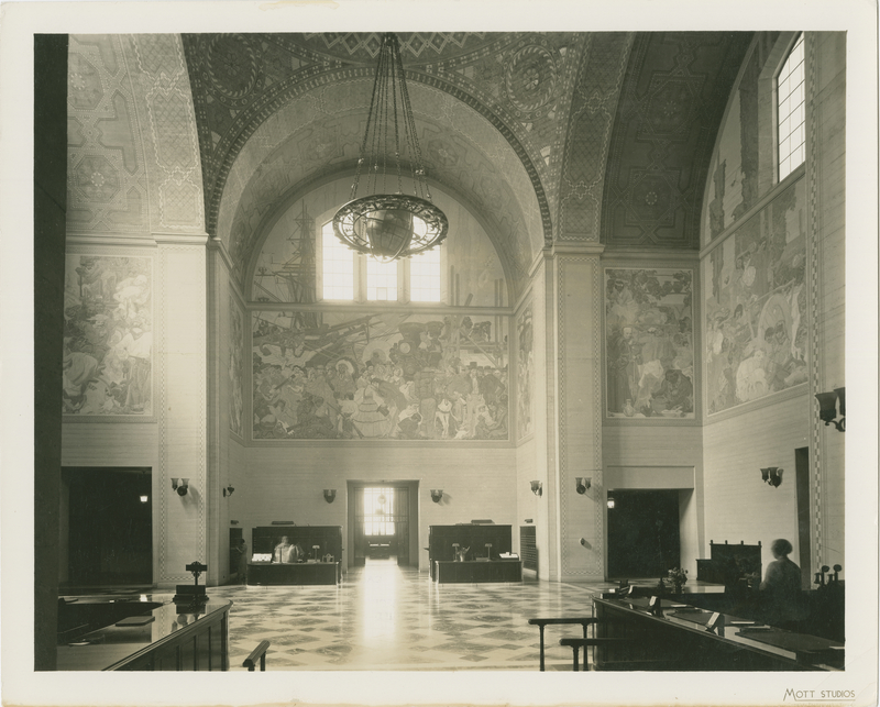 Lucile Lloyd: Rotunda, Los Angeles Central Library (Los Angeles, Calif.)