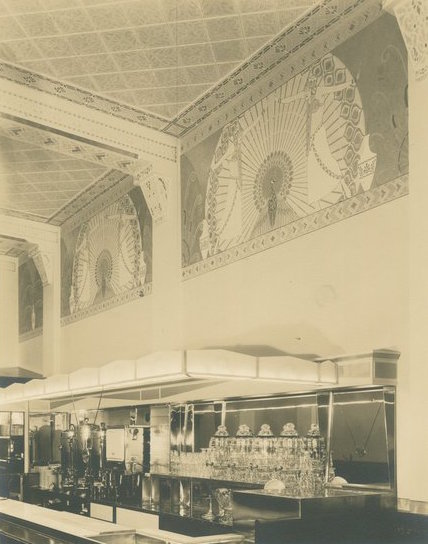 Manning's Cafeteria murals, Long Beach, Calif., 1931