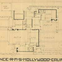 Kings Road House- floor plan